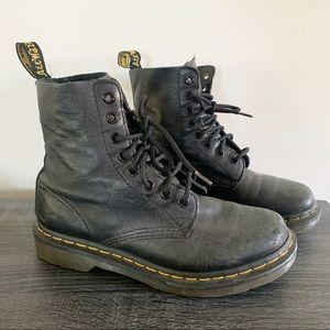 Dr.martens Pascal Black hi top combat boots Sz 7